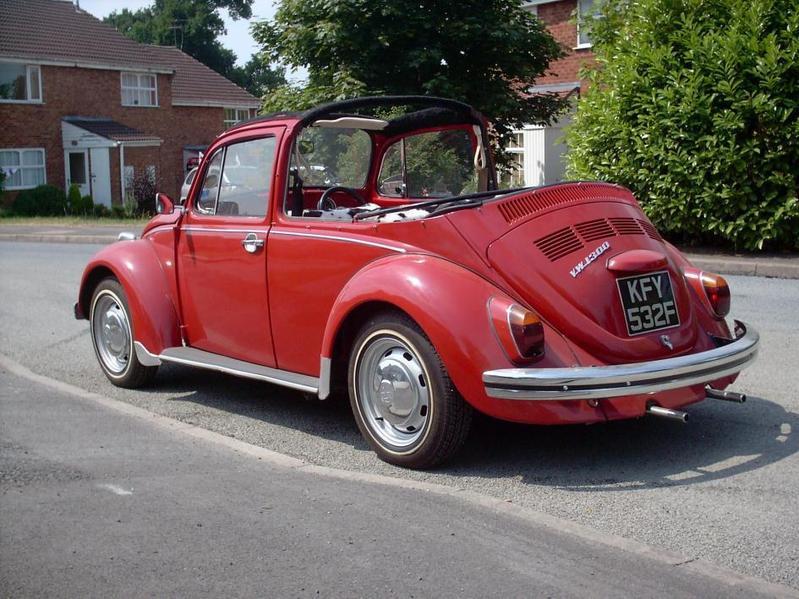 Classic Volkswagen Beetle Convertible In Birmingham