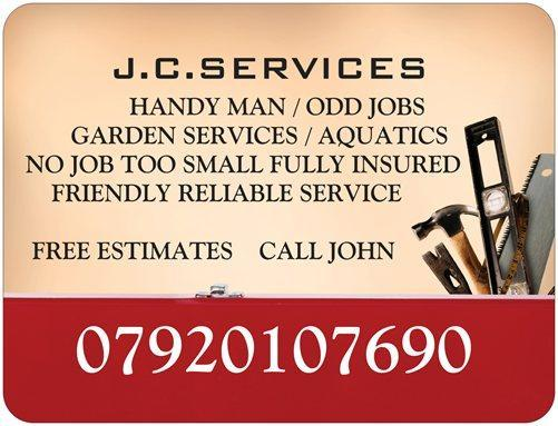 Handy Man Odd Jobs Garden Services Brighton Friday Ad