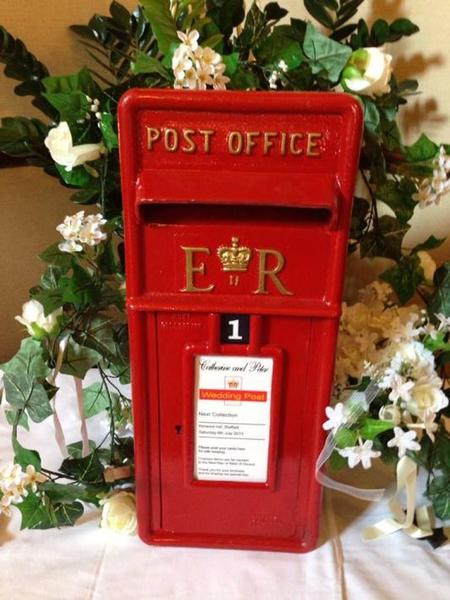 Wedding Gift Post Boxes Uk : Wedding Event Card Post Box Genuine Original Royal Mail Marriage Gifts ...