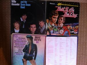 15 VARIOS RECORDS (lp,s)