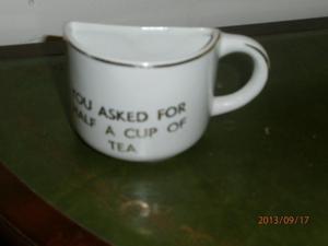 HALF A CUP OF TEA