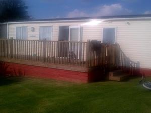 Abi highlander static caravan £ any reasonable offer considere