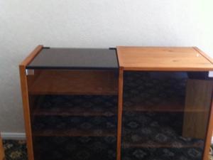 Audio / Music Double Cabinet