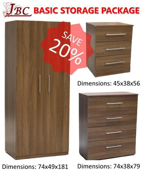 Complete Basic Storage Furniture Package Special Offer