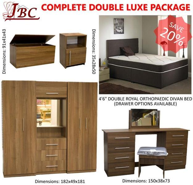 Complete Double Bedroom Luxe Furniture Package Special Offer In Sheffield Friday Ad