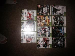 10 X Box 360 Games