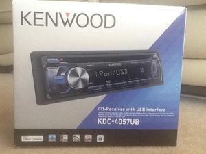 Kenwood KDC-4057UB Car CD/USB-Receiver