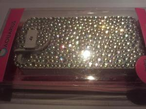 IPHONE 4s Diamante flip phone case new