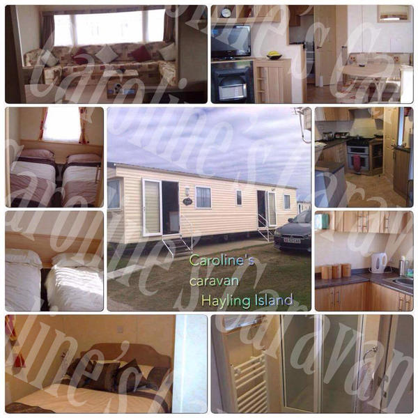 Popular Elliotts Caravan Estate Ltd Hayling Island Hampshire  Caravan