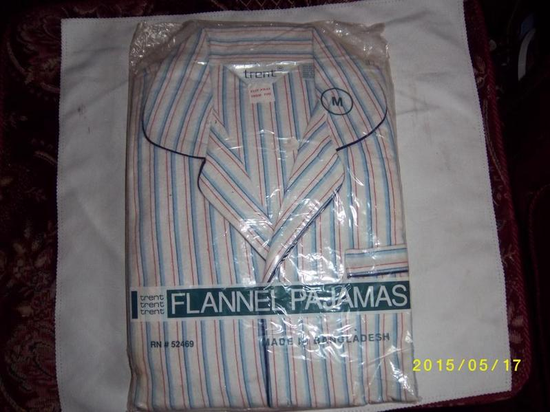 Mans Striped Flannel Pajamas in Stourbridge | Friday-Ad