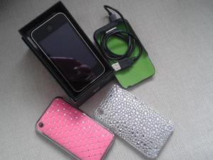 iPhone 3G S. With 3G Mobile. Locked. Boxed with Charger Booster Pack