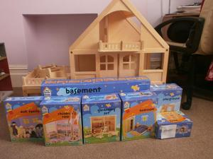 Wooden Dolls House People For Sale In Uk View 95 Ads