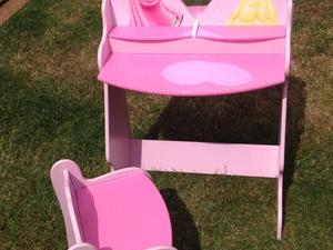 Princess Desk/Vanity Table with Chair