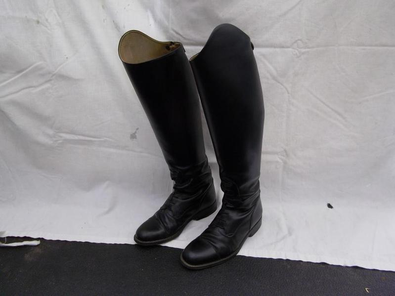 Sergio Grasso Womens Long Leather Riding Boots In Crawley