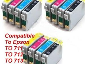Epson Compatible Ink Cartridges, to fit Stylus SX Series Printers.