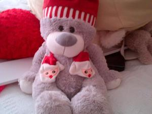 big xmas bear from the cuddle factory 21 inches