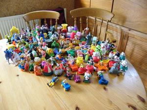 Mc Donalds and Burger King toys
