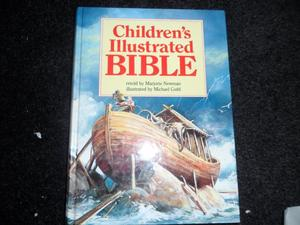 The children's illustrated Bible, Retold by Majorie Newman.