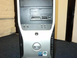 QUAD-CORE DELL PRECISION T3400 COMPUTER, 4GB RAM, 200GB HD