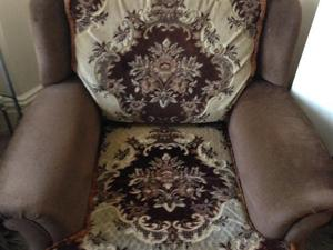 Free One Seater Armchairs with Fire Label (2 Available to collect)
