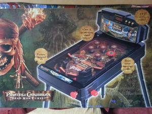 Pirates of the caribbean pin ball machine