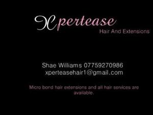 Xpertease mobile hair and extensions