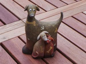 Set of 3 Dogs Ornament