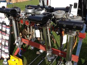 Outboards, Inflatables & Chandlery at the Kent Boat Jumble Sunday 11th October