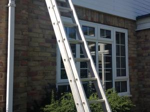 Roof ladders- great condition £35