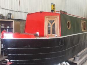 Cruiser stern narrow boat Brand new fit