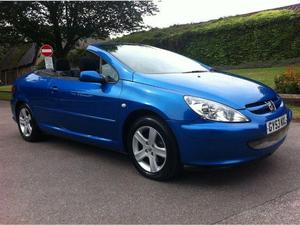 Used Convertible Peugeot 307 Cars for Sale in Heathfield | Friday-Ad