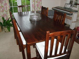 Dinning Table, chairs and sideboard