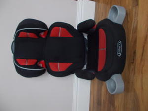 Graco Childrens Car Seat in Red & Black