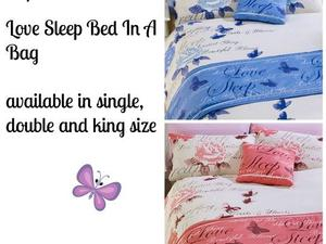 Love Sleep Bedding sets in a Bag