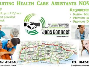 Health Care Assistant FULL AND PART TIME