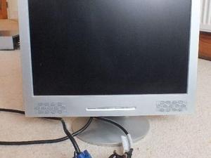 "17"" LCD Flat Panel Multimedia Computer Monitor"