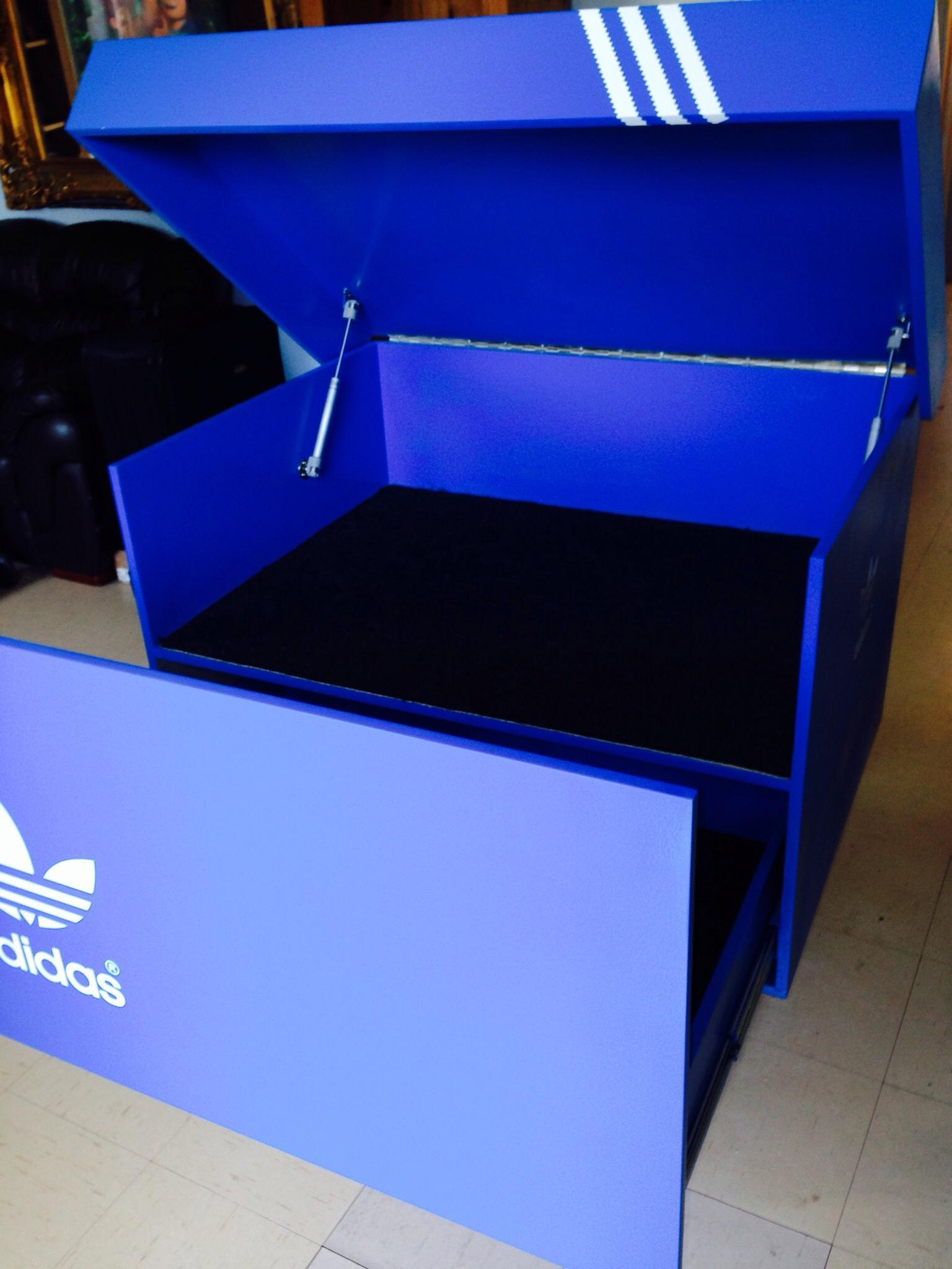Adidas Wooden Shoe Box