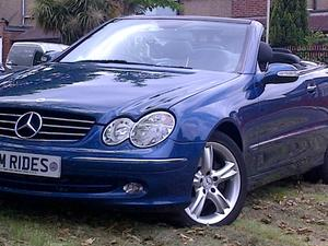 Mercedes Clk 2003 Fully Loaded with low mileage