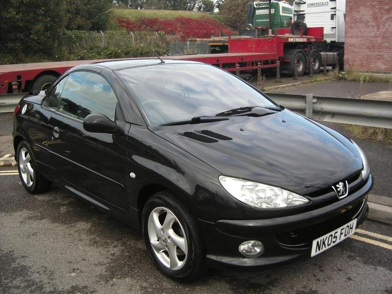 peugeot 206 cc 2005 in brighton friday ad. Black Bedroom Furniture Sets. Home Design Ideas