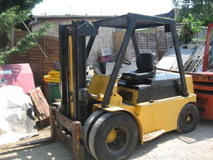 Coventry Climax 8000LB Lift, Diesel Fork Lift