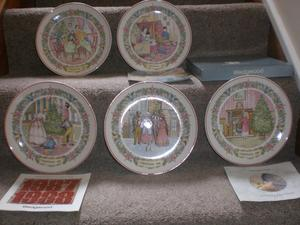 Wedgwood Christmas Plates Value
