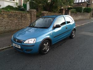 Vauxhall Corsa 2004 83,300 miles
