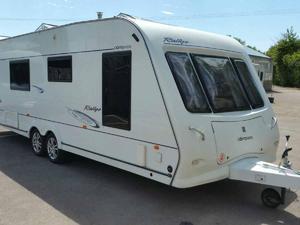 Compas Rallye 650 4 Berth Caravan Best Condition