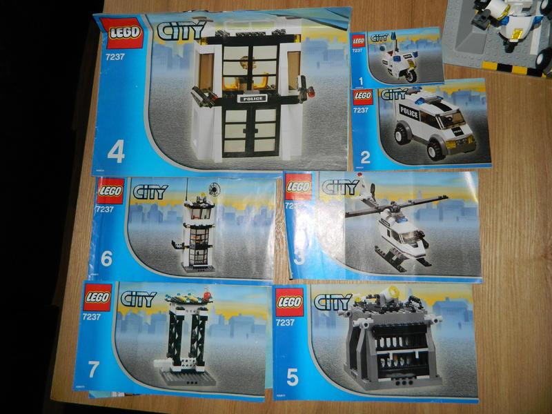 lego police station instructions 7237