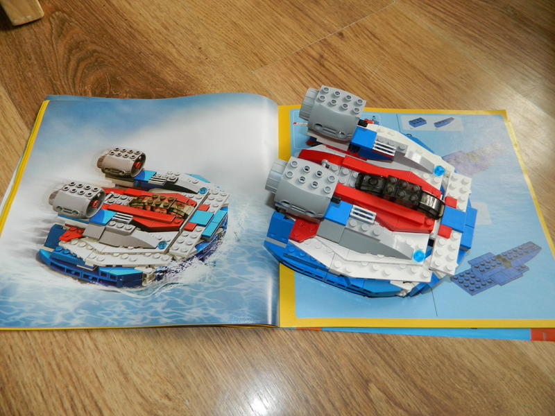 lego creator plane instructions