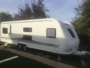 Hobby 720 UKFe Prestige Bunk Bed Model 7 Berth