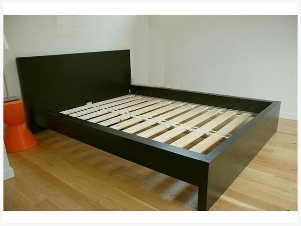 IKEA Malm Double Bed In Eastbourne - Expired