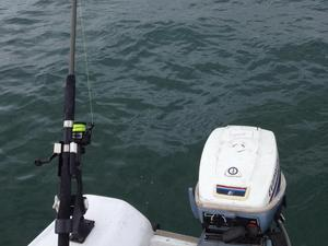 Orkney Longliner 16 open boat with 15 hp Evinrude long shaft outboard and trailer