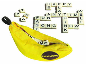 Bananagrams Game, word game - unopened, brand new, Perfect gift for crossword and word game lovers