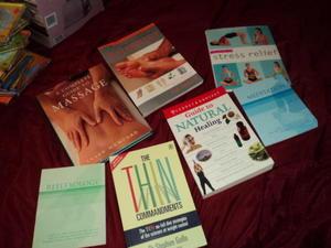 assorted health books